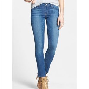 Paige Skyline Ankle Peg Dani denim jeans 25